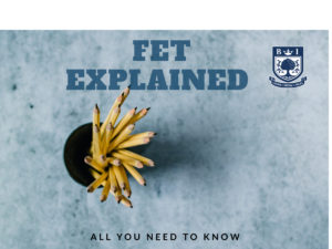 Further Education and Training Institute? -FET Explained - Pencils in a cup